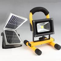 Wholesale 20W Solar LED Flood Lights 6600MAH 18650 Lithiu for Garden lighting from china suppliers