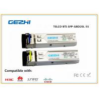 Wholesale TELCO BTI-SFP-GBD20L-55/31S-C WDM 1.25 Gbps SFP Fiber Module Tx 1550nm Rx 1310nm SM/LC from china suppliers