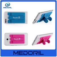 Buy cheap Customized logo touch u stick mobile phone card holder with cheap price from wholesalers