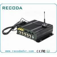 Wholesale 4CH Full AHD 720P Recording Dual SD Card Mobile DVR with 4G / 3G GPS WIFI from china suppliers