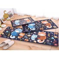 Wholesale Different Fabric Good Wearability Cartoon Kids Bedroom Carpet Anti - Slip PVC Dots from china suppliers