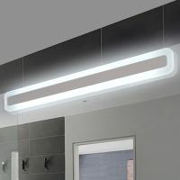 Wholesale Modern bathroom / toilet LED front mirror lights for bathroom Acrylic mirror lights fashionable design Dressing table la from china suppliers