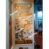 Wholesale Decorative Engraved Partition Glass Wall from china suppliers