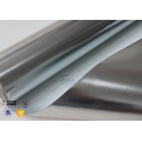 Wholesale Heat Reflective 0.43MM 480G Aluminium Foil Fiberglass Cloth SDS Certification from china suppliers