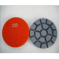 Quality XY-088-5 granite velcro polishing pads for sale