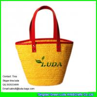 Wholesale LUDA wholesale designer handbags lady wheat tote straw bags from china suppliers