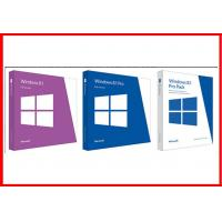 Wholesale Full Version 32 Bit / 64 Bit English Windows 8.1 Pro Retail Box Brand new from china suppliers