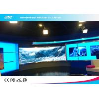 Wholesale P5mm Indoor Curved LED Display screen, SMD2121 full color led screen for TV station from china suppliers