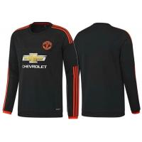 Wholesale Black Long Sleeve  Soccer Jersey Manchester United 3rd , Football Long Sleeve Shirts from china suppliers