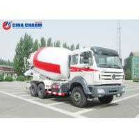 Wholesale 12 Cubic Meters Cement Mixer Truck Ready Mix Air Pressure Water Supply from china suppliers