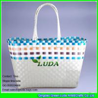 Wholesale LUDA large woven PP straw bag from china suppliers