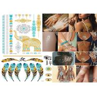 Wholesale Transformers Temporary Metallic Tattoo Stickers Custom Designs Bling Shiny from china suppliers