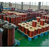 Quality 130 - 220 Degrees Enamelled Copper Wires For Transformers / Motors / Windings for sale