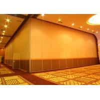 Wholesale Office Hanging Sliding Door , 65mm Panel Operable Wall For Banquet Wedding Facility from china suppliers
