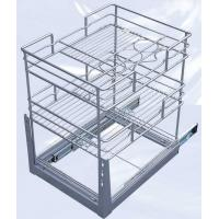 Wholesale Kitchen Basket|Drawer Basket|Pull Out Basket|Kitchen Rack|Kitchen Shelf B-25|B-30|B-35 from china suppliers