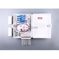 Wholesale 16 Port Fiber Optic Termination Box FDB0216G White with SC/APC PLC splitter from china suppliers