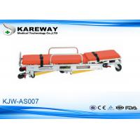 Wholesale Backrest Adjustment Patient Trolley Stretcher , Fold Up Stretcher 3 Years Guarantee from china suppliers