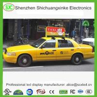 Wholesale HD Video IP65 waterproof led sign , vehicle led signs with Meanwell Power Supply from china suppliers