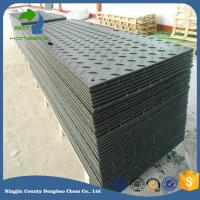 Quality Recycled Uhmwpe Hdpe Material Grass Road Protection Heavy Duty Machine Easy Carring UHMWPE for sale