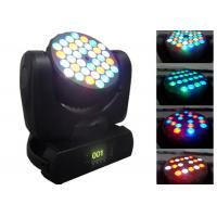 Wholesale 108w Disco LED Moving Head Light , 5 - 60° Beam Angle Dj Moving Head Lights from china suppliers