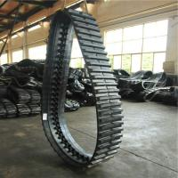 Buy cheap Puyi OEM Dumper Rubber Track 320*90*56 for Yanmar C30r /Engineering rubber caterpillar from wholesalers