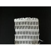Wholesale Outdoor PET / NYLON Fabric Mesh Netting , Knitted White Mesh Clothing Shell Fabric from china suppliers