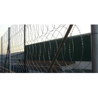 Wholesale High Tensile Security Razor Wire Fencing Sun Resistant For Railways / Highways from china suppliers