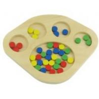 Wholesale Tiger Montessori -- Sorting dots  made of ply wood from china suppliers