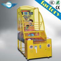 Wholesale Coin operated electronic basketball game/basketball game machine/kid basketball arcade game machine from china suppliers