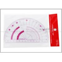 Wholesale 15cm Flexible Protractor  Fashion Design Ruler with Sandwich Line Printing  P101 from china suppliers