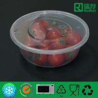 Quality Microwaveable Airtight PP plastic food container 750ml for sale