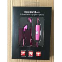 EL lighting earphone