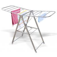 Wholesale Butterfly shape stainless steel portable and folding indoor clothes airer from china suppliers