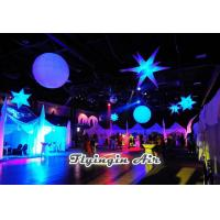 Wholesale White Hanging Inflatable Star with LED Light for Party, Bar and Event Decoration from china suppliers
