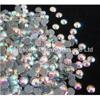 Wholesale hot fix rhinestone,hot fix strass,hot fix crystal stone clear ab color from china suppliers