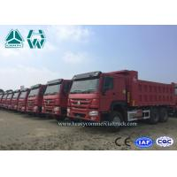 Buy cheap High Capacity Ten Wheel Mine Dump Truck / 20 Ton Howo Coal Mining Trucks from wholesalers