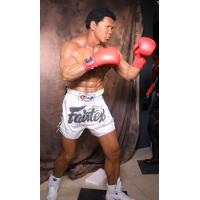 Wholesale Theme Park Handmade Realistic Life Size Wax Figures Muhammad Ali-Haj Character from china suppliers