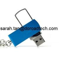Quality Metal Twister USB Flash Drive, Twist USB Flash Memory, Real Capacity Swivel USB Pendrives for sale