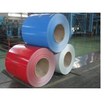 Wholesale Glossy Color Coated Prepainted Steel Coil , Galvanized Steel Coil For Roof / Wallboards from china suppliers