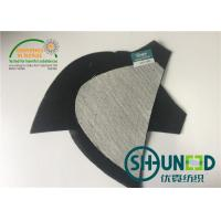 Wholesale Canvas Thinner Costume Shoulder Pads , Black Small Shoulder Pads For Casual Suit from china suppliers