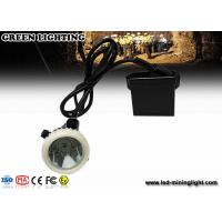 Wholesale Led Cap Lamp Underground Mining With 3.7V 6.6Ah Lithium Battery , Cree LED Mining Headlamp from china suppliers