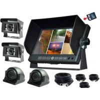 Wholesale 7 inch LCD security Car Rear View Monitor DVR with 32G SD Card for Van from china suppliers