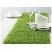 Wholesale PP 15mm Landscape Artificial Grass Guage 3/8'' Clean Backing Table Turf Dtex 5500 from china suppliers