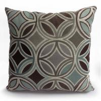"Wholesale 20"" x 20"" Square Motion Jute Reversible Throw Pillows In Grays And Coffee Finishing from china suppliers"