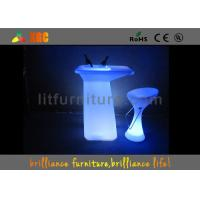 Wholesale PE LED table / bar Furniture with 16 colors changeable from china suppliers