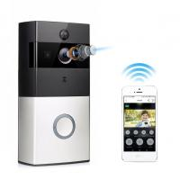 Wholesale Wireless Video Door Phone with Battery 166 Degree Wide Angle Night Vision WiFi Video Doorbell from china suppliers