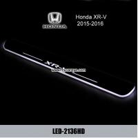 Wholesale Car Door sill scuff plate Guards threshold LED light For Honda XR-V from china suppliers
