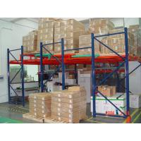 Wholesale Warehouse steel rack push back pallet racking from china suppliers