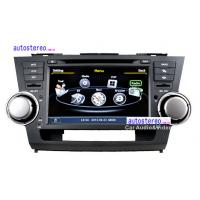 Wholesale 8'' Car Stereo GPS Headunit Multimedia DVD Player  for Toyota Highlander Kluger from china suppliers