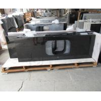 Wholesale Natural Angola Black Granite Slab Countertop Cost Kitchen Countertop Worktops from china suppliers